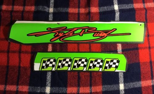 Kyle Busch Interstate State Batteries Name Rail W/ Five Win