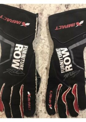 2017 Martin Truex Jr Race Used Gloves