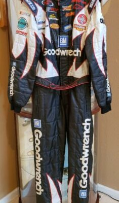 2003 Kevin Harvick Autographed GM Goodwrench Race Worn Firesuit