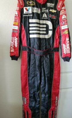 Jeff Gordon AARP Drive To End Hunger Race Used Pit Crew Fire Suit