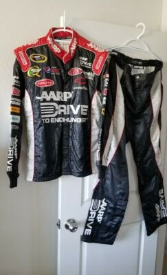 Jeff Gordon AARP 2 Piece Race Used Pit Crew Fire Suit