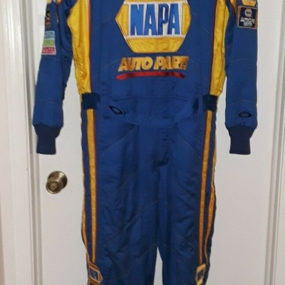 NASCAR Race Used Michael Waltrip Racing Truex Jr. team fire suit.