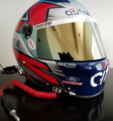 ⭐⭐⭐⭐Matt Kenseth 2009 Race Worn Darlington Winner Helmet⭐⭐⭐⭐