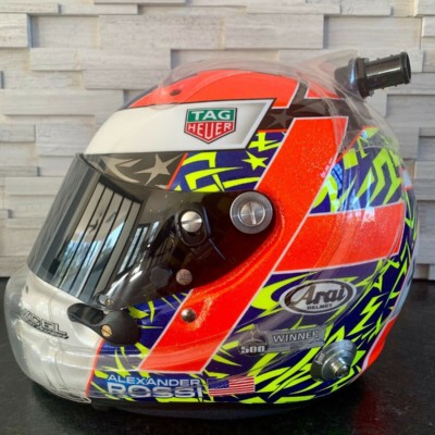 Alexander Rossi 2019 Bathurst 1000 Helmet (All proceeds to WIRES Wildlife Fund)