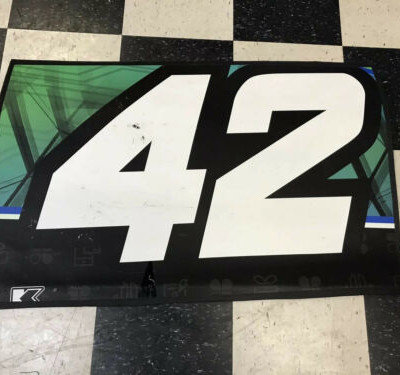 Kyle Larson #42 Door Nascar Race Used Sheetmetal Martinsville 2018