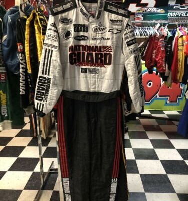 Dale Earnhardt Jr. 3 Doors Down National Guard Nascar Race Used Drivers Firesuit