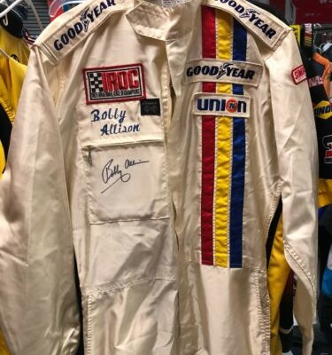 Bobby Allison Iroc Not Nascar Race Used Drivers Firesuit Autographed Rare