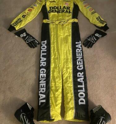 NASCAR Race Worn/Used Fire Suit/Shoes/Gloves  Matt Kenseth  #20 Joe Gibbs Racing