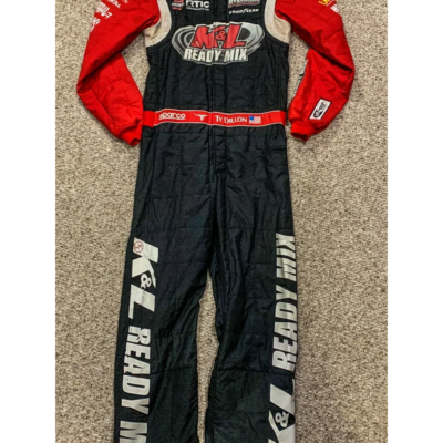 TY DILLON, RACE USED TRUCK SERIES SPARCO DRIVERS SUIT , 2017 ELDORA SPEEDWAY