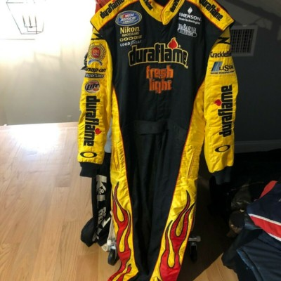 RUSTY WALLACE  RACE USED/WORN, RWI RACING XFINITY SERIES IMPACT DRIVERS SUIT