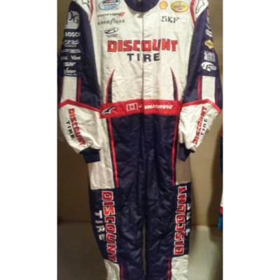 JACQUES VILLENEUVE 2012 PENSKE NATIONWIDE RACE WORN/USED ALPINESTARS,DRIVER SUIT