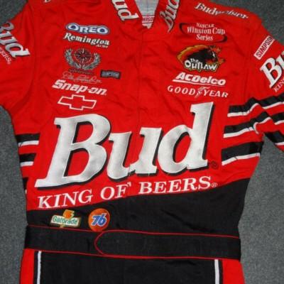 NASCAR FANS AUTHENIC 2000 DALE EARNHARDT JR BUDWEISER DRIVERS UNIFORM