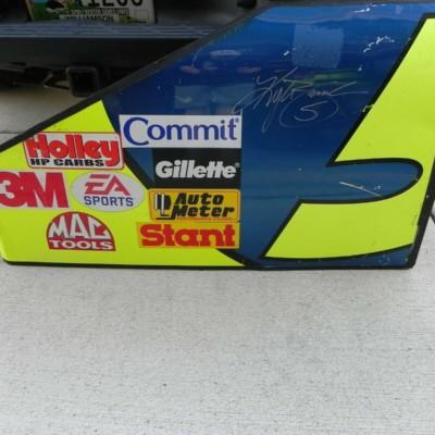 NASCAR AUTOGRAPHED KYLE BUSCH 2006 #5 HENDRICK SHEETMETAL COA MUST SEE