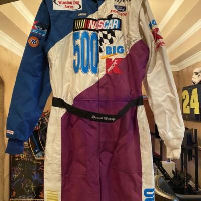 NASCAR Race Worn Firesuit Darrell Waltrip  K Mart 2000 Autograph RARE