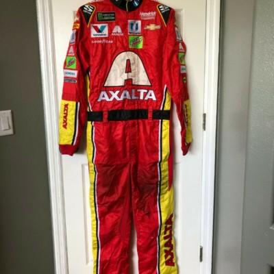 Dale Earnhardt Jr NASCAR Race Used Worn Pit Crew Firesuit Axalta Hendrick