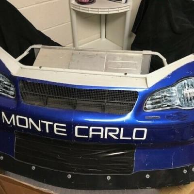 Jimmie Johnson Lowes Hendrick NASCAR Race Used Sheetmetal Nose 2002 AWESOME