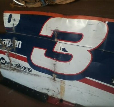 #3 Sheetmetal Rare. Used at 1997 Monte Carlo. Used in Several Races.