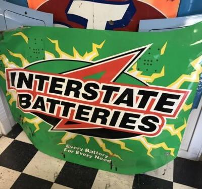 Kyle Busch 2008 Interstate Batteries Hood Nascar Race Used Sheetmetal Las Vegas