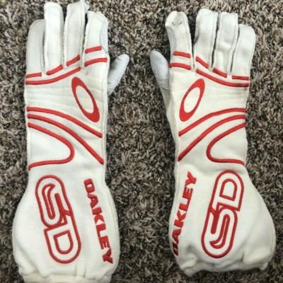 2010-12 Scott Dixon Race Used Worn Customized Oakley Racing Gloves IndyCar