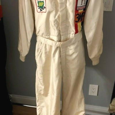 JOHN FITZPATRICK, PORSCHE RACING LEGEND,SIGNED 1979 BATHURST 1000 DRIVERS SUIT