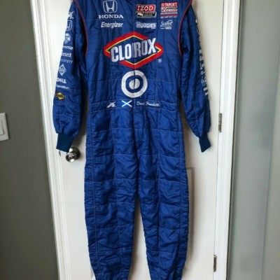Dario Franchitti Race Used Worn Drivers Fire Suit Indycar Indy 500 Champion