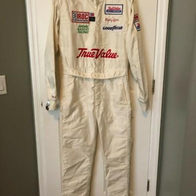 Harry Gant Race Used Worn IROC Drivers Fire Suit NASCAR Skoal Bandit Winston Cup