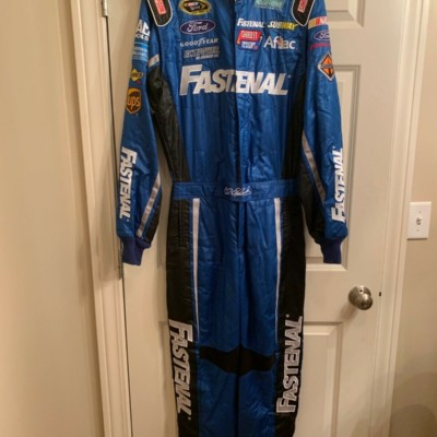 Carl Edwards Race Used Fastenal Drivers Suit