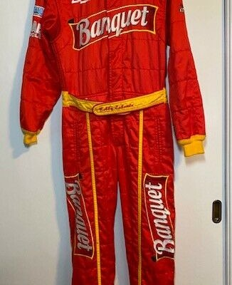 RARE Bobby Labonte JGR #19 Banquet Race Used Suit & Matching Autographed Diecast