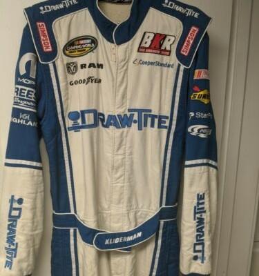 Parker Kligerman Race Used Firesuit Brad K Racing