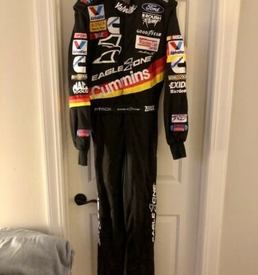 NASCAR Race Used Worn Driver Fire Suit Uniform Mark Martin #6 Roush Racing