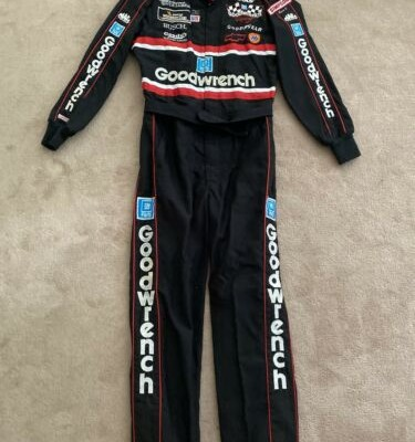NASCAR Race Used Crew Suit Dale Earnhardt Sr RCR Goodwrench #3 1993