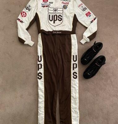 NASCAR Race Used Worn Driver Fire Suit/Shoes Dale Jarrett Robert Yates Uniform