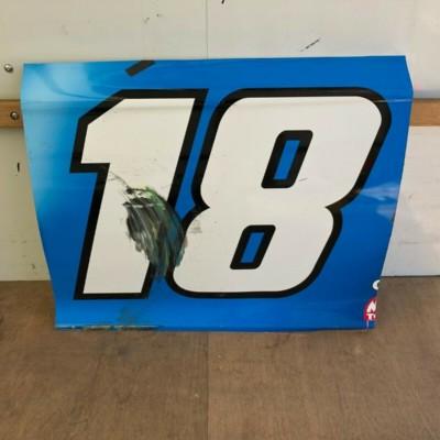 Kyle Busch NASCAR Race Used Sheetmetal M&Ms Door Panel 2020 Daytona Clash