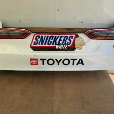Kyle Busch NASCAR Race Used Sheetmetal Snickers Rear Bumper 2020
