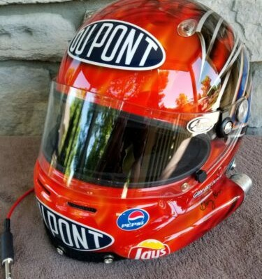 Jeff Gordon ONE OF A KIND Autographed STUNNING authentic Arai Helmet by Gary Hes