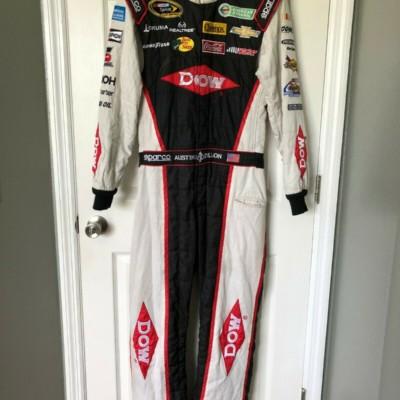 Austin Dillon NASCAR Race Used Worn ROOKIE Drivers Fire Suit #3