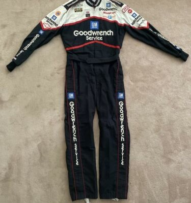 NASCAR Race Used Crew Suit Dale Earnhardt Sr RCR Goodwrench #3 1995