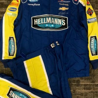 Dale Jr. Autographed Hellmann's Crew Suit