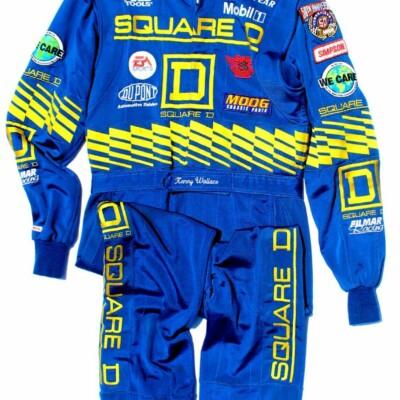 1998 Kenny Wallace NASCAR Race Worn Drivers Firesuit w/ Great Provenance