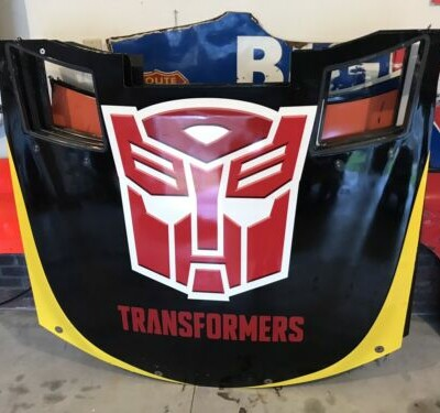 Christopher Bell #20 Transformers Nascar Race Used Sheetmetal JGR Rookie Hood