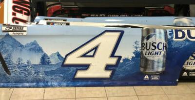 2020 Kevin Harvick Bristol Win Busch Light Nascar Race Used Sheetmetal Side