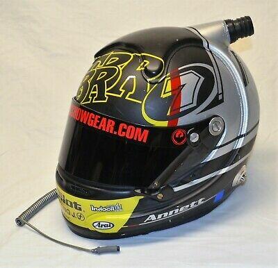 2014 Michael Annett TBR Pilot Flying J Rookie Race Used NASCAR Driver Helmet