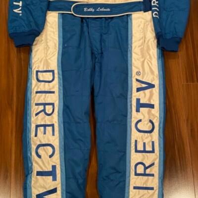 Bobby Labonte 2007 Rolex 24 Autographed Race Worn Used Firesuit Drivers suit HOF