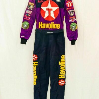 1998 Kenny Irwin Jr. Joker/Texaco race worn Firesuit at Charlotte