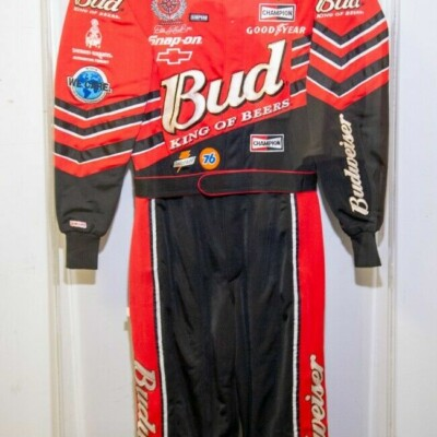 NASCAR Cup Series Dale Earnhardt Jr. 2001 race used firesuit with display case