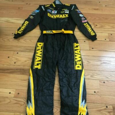 DeWALT Marcos Ambrose NASCAR Race Used Drivers Firesuit – VERY RARE!
