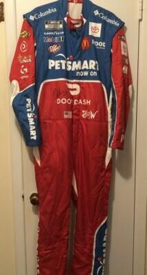Bubba Wallace Autographed Signed Driver Suit PetSmart DoorDash NASCAR
