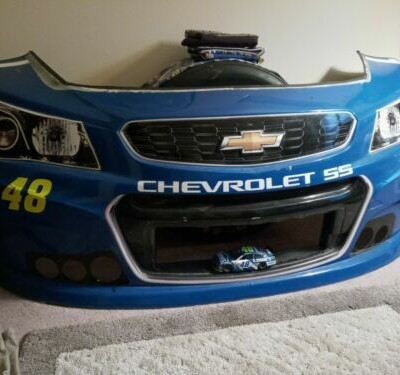 Jimmie Johnson 2017 very rare. Used bumper from Hendrick Motorsports