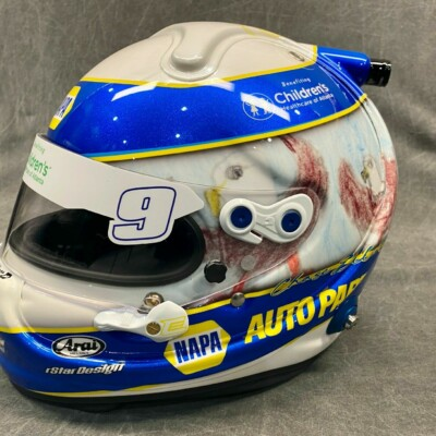 Chase Elliott autographed racing helmet for charity