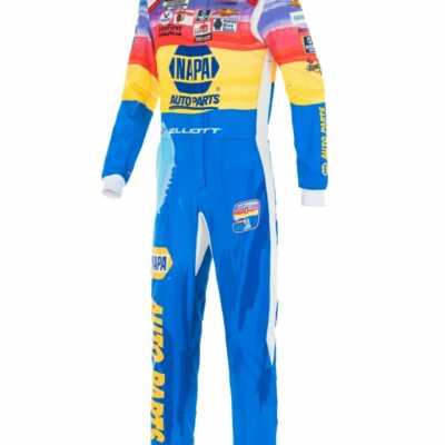Chase Elliott autographed racing suit for charity